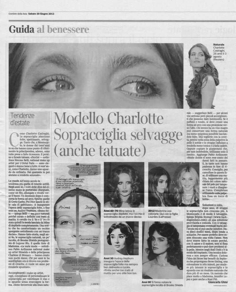 Corriere Della Sera 2012