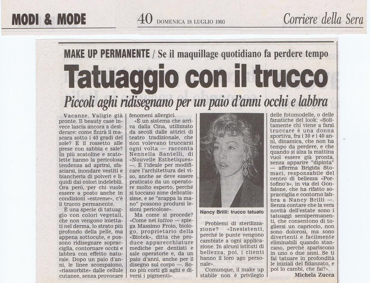 Corriere della Sera 1993